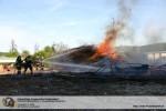 Brandeinsatz im Glasgraben in Purkersdorf